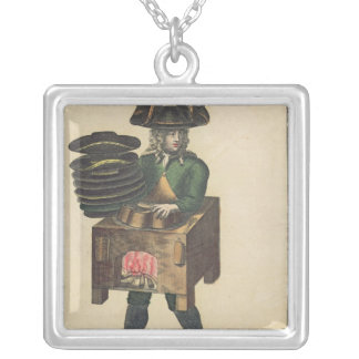 The Milliner's Costume Silver Plated Necklace