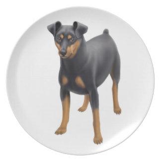 The Miniature Pinscher Dog Plate
