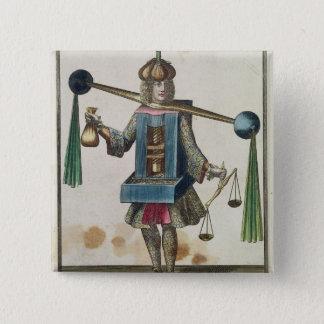 The Minter's Costume 15 Cm Square Badge