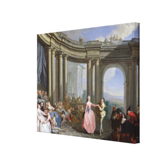 The Minuet Canvas Print