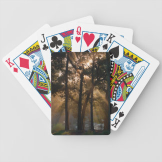 The Mist Bicycle Playing Cards