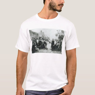 The Mobbing of John Wesley  at Wednesbury T-Shirt