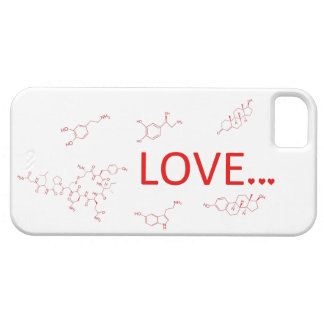 The Molecules of Love... iPhone 5 Cover
