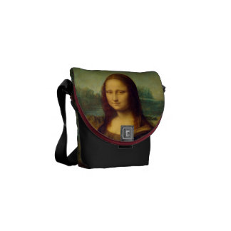 The Mona Lisa By Leonardo da Vinci Commuter Bag