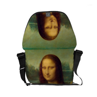 The Mona Lisa By Leonardo da Vinci Courier Bag