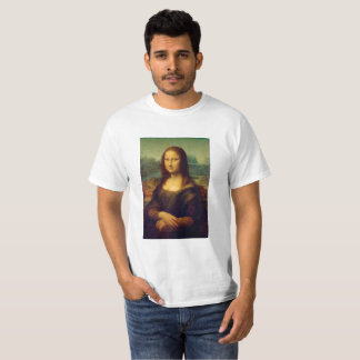 The Mona Lisa By Leonardo Da Vinci T-Shirt