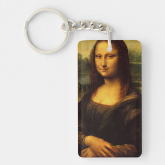 The Mona Lisa Key Ring
