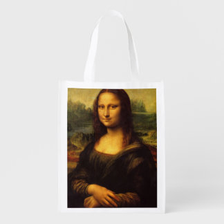 The Mona Lisa Reusable Grocery Bag