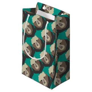 The Monkey Nosed Bear Small Gift Bag