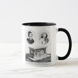 The Monument of the Tradescants in the Church Yard Mug