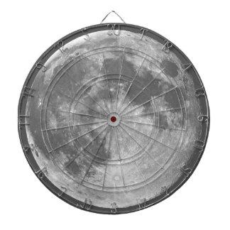 The Moon Dart Board