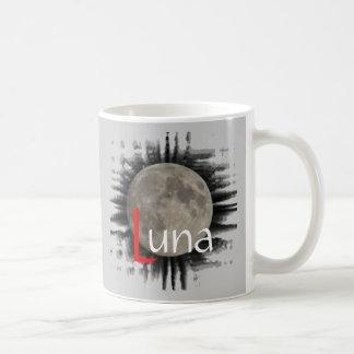 The moon, la lune, la luna, the moon cup mug