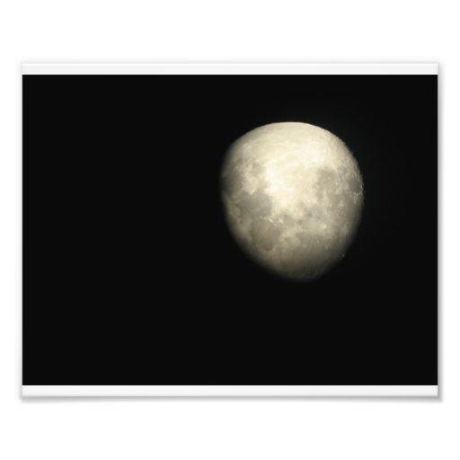 The Moon Photo Art