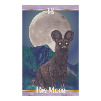 The Moon Poster