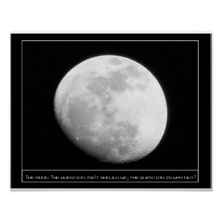 The moon Why not Print