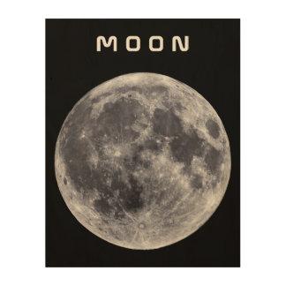 The Moon Wood Prints