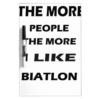 the more baithlon dry erase white board
