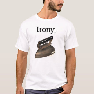 The most ironic shirt