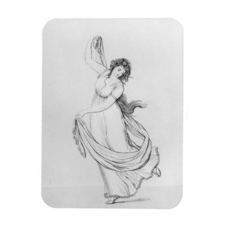 The Muse of Dance, Plate VI from 'Lady Hamilton's Rectangular Photo Magnet