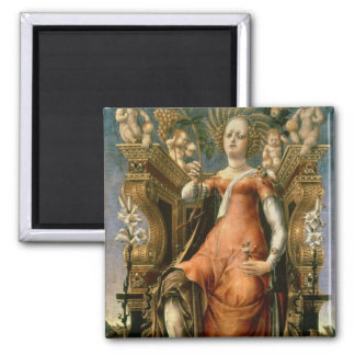 The Muse Thalia Square Magnet