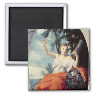 The Muse Urania, 1646-47 Square Magnet