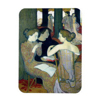 The Muses, 1893 Rectangular Photo Magnet