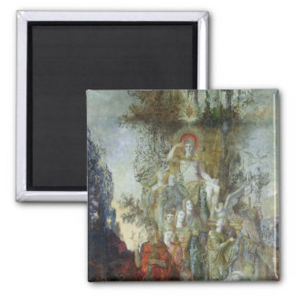 The Muses Square Magnet