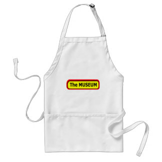 The MUSEUM Logo The MUSEUM Zazzle Aprons