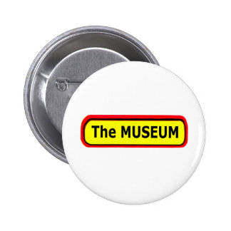 The MUSEUM Logo The MUSEUM Zazzle Pinback Buttons