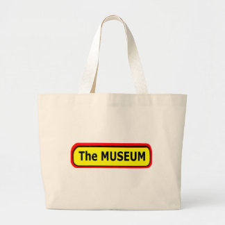 The MUSEUM Logo The MUSEUM Zazzle Canvas Bags