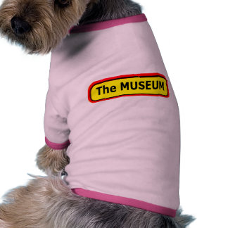 The MUSEUM Logo The MUSEUM Zazzle Dog T-shirt