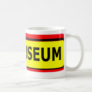 The MUSEUM Logo The MUSEUM Zazzle Coffee Mugs