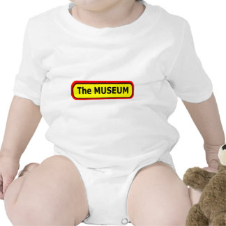 The MUSEUM Logo The MUSEUM Zazzle T Shirt
