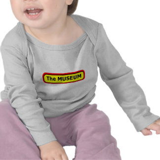 The MUSEUM Logo The MUSEUM Zazzle Tshirts