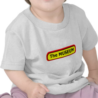 The MUSEUM Logo The MUSEUM Zazzle Tshirt