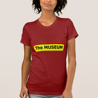 The MUSEUM Logo The MUSEUM Zazzle T Shirts