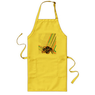 The Music 2 Long Apron