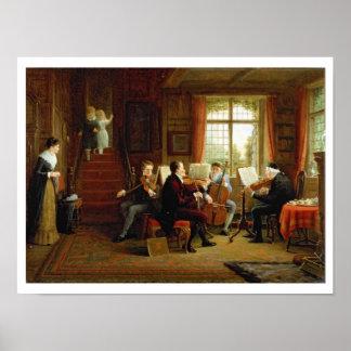 The Music Lesson Print