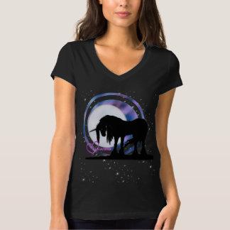 The Mystical Black Unicorn (Purple/Blue Blur) Shirt