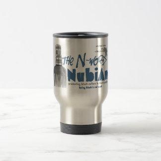 "The ""N word Nubian"" coffee mug"