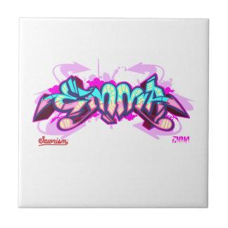 The name Emma in graffiti-Ceramic Tile