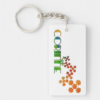 The Name Game - Corinne Key Ring