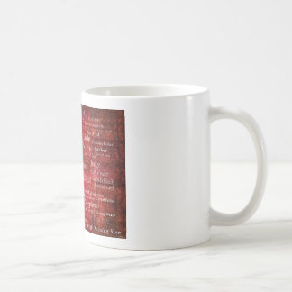 The Names of Jesus Christ From the Bible Coffee Mug