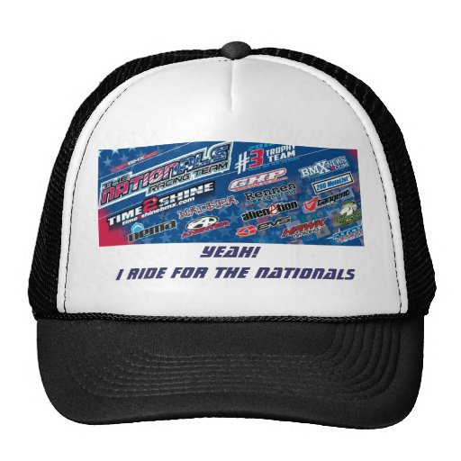 The Nationals Bmx Racing Team Trucker Hat