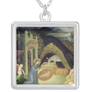 The Nativity Silver Plated Necklace