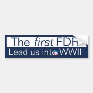 The New FDR? Bumper Sticker