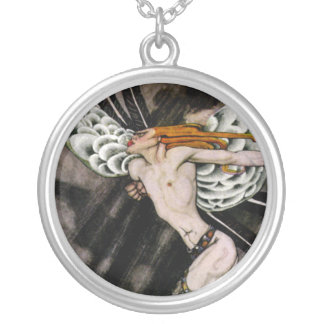 The North Wind Round Pendant Necklace