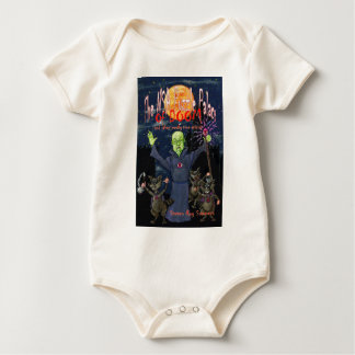 The NSA Puzzle Palace of Doom Baby Bodysuit