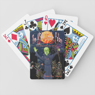 The NSA Puzzle Palace of Doom Bicycle Playing Cards