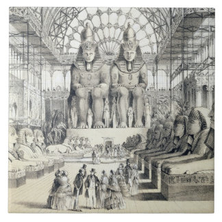 The Nubian Court at The Crystal Palace in Sydenham Tile